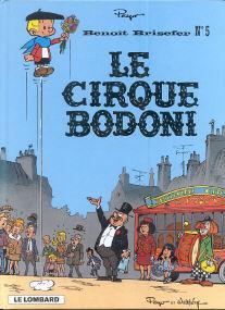 Le Cirque Bodoni - (Benoît Brisefer 5)