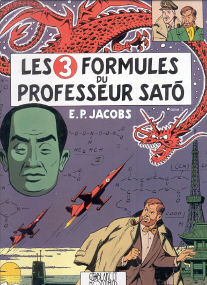 Les 3 Formules du Professeur Sato (tome 1) - (Blake et Mortimer 11)