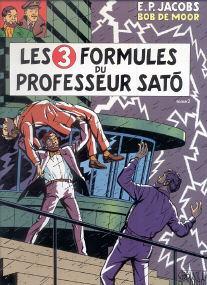 Les 3 Formules du Professeur Sato (tome 2) - (Blake et Mortimer 12)