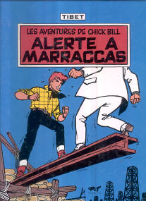 Alerte a Marraccas - (Chick Bill 10)