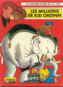 Les Millions de Kid Ordinn - (Chick Bill 17)