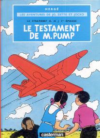 Le Testament de M. Pump - (Jo, Zette et Jocko 1)