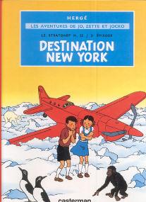 Destination New York - (Jo, Zette et Jocko 2)