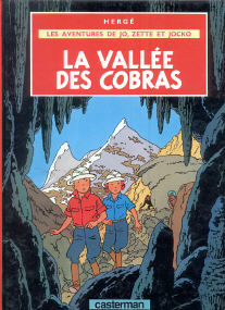 La Vallée des Cobras - (Jo, Zette et Jocko 5)
