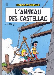 L'Anneau des Castellac - (Johan et Pirlouit 11)