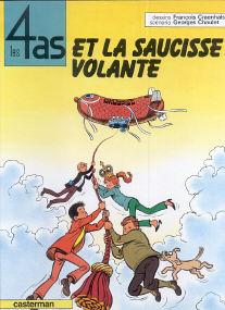 Et la Saucisse Volante - (Les 4 As 13)