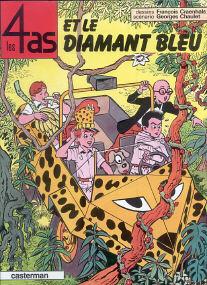Et le Diamant Bleu - (Les 4 As 17)