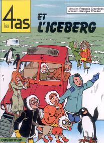 Et l'Iceberg - (Les 4 As 19)