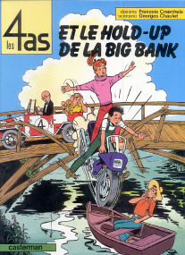 Et le Hold-Up de la Big Bank - (Les 4 As 22)
