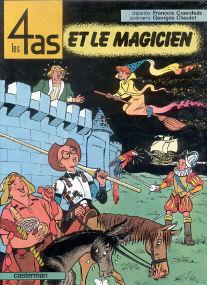 Et le Magicien - (Les 4 As 23)