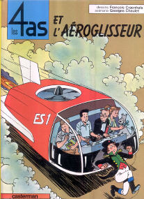 Et l'Aéroglisseur - (Les 4 As 2)