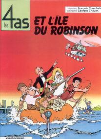 Et l'Ile du Robinson - (Les 4 As 9)