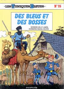 Des Bleus et des Bosses - (Les Tuniques Bleues 25)