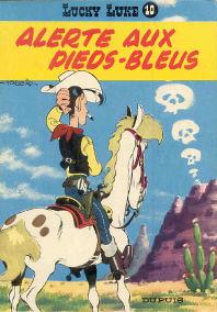 Alerte aux Pieds-Bleus - (Lucky Luke 10)