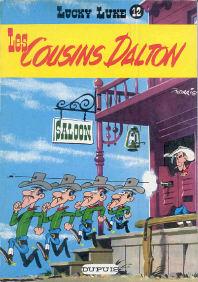 Les Cousins Dalton - (Lucky Luke 12)