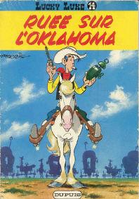 Ruee sur l'Oklahoma - (Lucky Luke 14)
