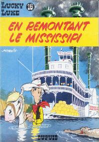 En Remontant le Mississipi - (Lucky Luke 16)