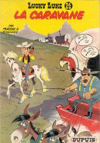La  Caravane - (Lucky Luke 24)