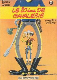 Le 20ème de Cavalerie - (Lucky Luke 27)