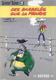 Des Barbelés sur la Prairie - (Lucky Luke 29)