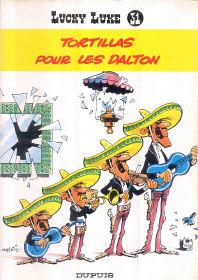 Tortillas pour les Dalton - (Lucky Luke 31)