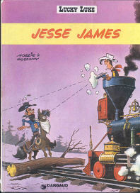 Jesse James - (Lucky Luke 35)