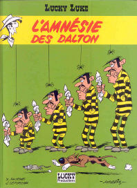 L'Amnésie des Dalton - (Lucky Luke 60)