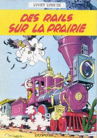 Des Rails sur la Prairie - (Lucky Luke 9)
