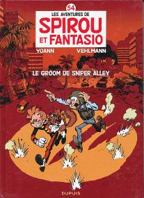 Le Groom de Sniper Alley - (Spirou et Fantasio 54)