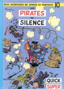 Les Pirates du Silence - (Spirou et Fantasio 10)