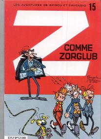 Z Comme Zorglub - (Spirou et Fantasio 15)