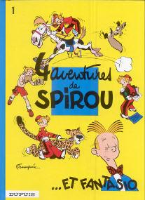 4 Aventures de Spirou et Fantasio - (Spirou et Fantasio 1)
