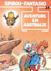 Aventure en Australie - (Spirou et Fantasio 34)