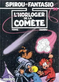 L'Horloger de la Comète - (Spirou et Fantasio 36)