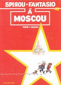 À Moscou - (Spirou et Fantasio 42)