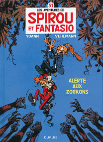 Alerte Aux Zorkons - (Spirou et Fantasio 51)