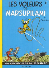 Les  Voleurs du Marsupilami - (Spirou et Fantasio 5)