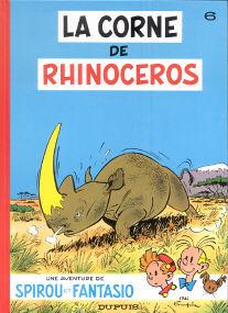 La Corne de Rhinoceros - (Spirou et Fantasio 6)