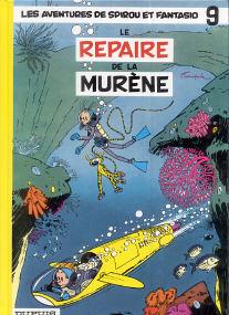 Le Repaire de la Murène - (Spirou et Fantasio 9)