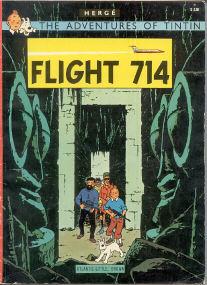 Flight 714 - (Tintin 21)