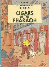Cigars of the Pharaoh - (Tintin 3)