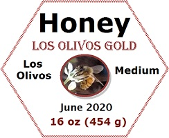Los Olivos Gold - Honey Label