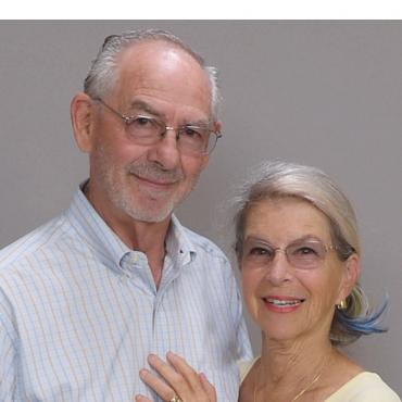 Arlene Scallon and Jim Gray