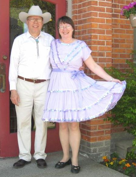 Elaine Mikenas and Dennis Viscanti