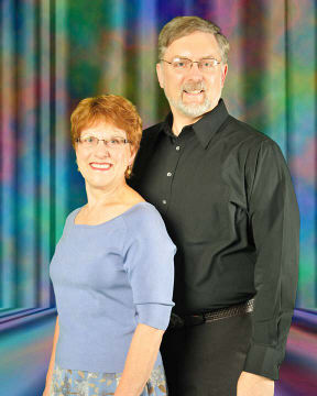 Jeanette Bock and Rob Wood