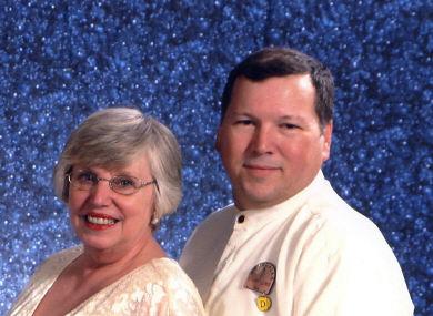 Stuart Lewis and Fay Samborsky