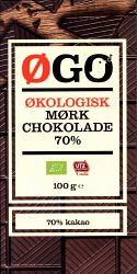 Øgo Dark Chocolate 70% (Øgo | Netto)