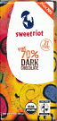 Sweet Riot - Pure 70% Dark Chocolate