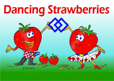 Dancing Strawberries