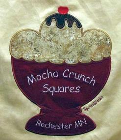 Mocha Crunch Squares